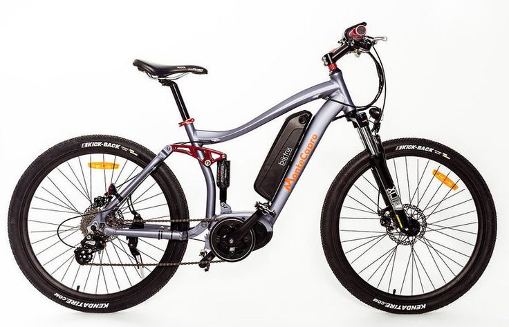 MonteCapro from Bitrix A full-suspension e-bike!  I could bike all day long.  This has got to be one fantastic idea! (Especially since as some of us are aging, it's harder getting up some of those hills!)