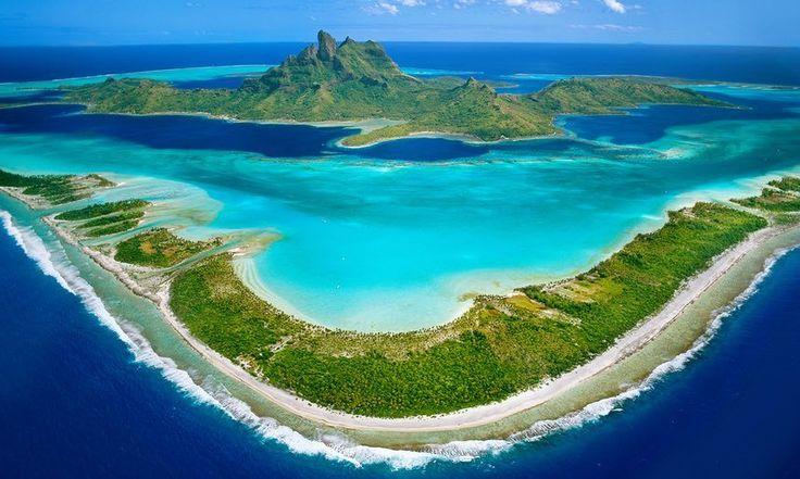 #BoraBora #LeewardIslands #Island #Wallpaper Atoll, Image, Bing, Windward and leeward - Follow @extremegentleman for more pics like this!