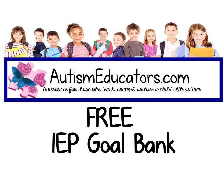 iep goals for students with neuromotor Therapy goals for students receiving services in the school setting and to   characteristics of iep goals that represent best practice in a school setting   skill acquisition: action, movement, and neuromotor processes in j h.