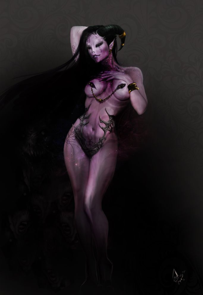 the-emperor-protects:  SO ya some of these wereposted on deviantart by someone named SlaaneshGoddess666 but I cant seem to find their page in order to credit them :/ So i dont know if its their art or not. If anyone knows who they are or where their page is please link them in the post. ALso, Slaanesh is freaken weird man…Really weird.The ones I CAN credit are :blazbaros.(Third one down).kain-moerder(last one).tanja-a.(Fourth one down)soulty666.( fifth one down)(Last…