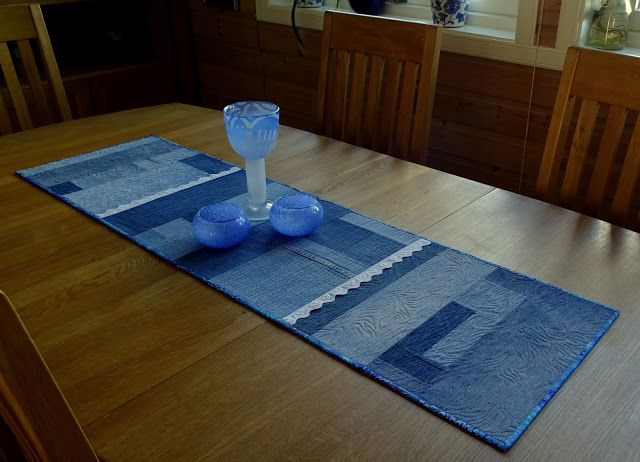 A table runner by Iina Alho