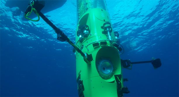 After years of preparation and days of uncooperative weather conditions, James Cameron, at approximately 2 p.m. ET (4 a.m., local time), began descending solo to Earth's deepest, and perhaps most alien, realm,according to members of the National Geographic expedition.    If all goes to plan, the National Geographic explorer and filmmaker should become the first human to reachthe Mariana Trench's Challenger Deep alone—and the only one to explore it in depth, in person.