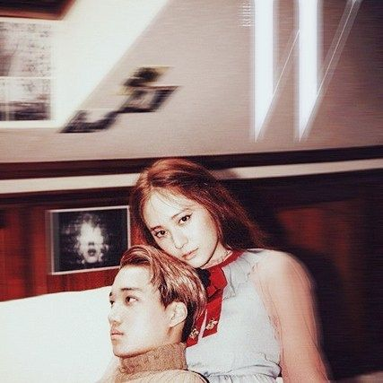 Goalslets be happy✌ #krystal #kai #kaistal #exo #fx