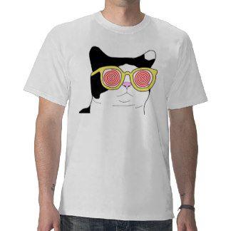 Gato del inconformista camisetas