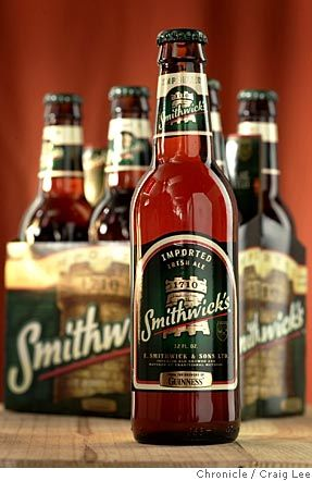 """""""Smithwick's (""""smith-icks"""" in Ireland, with a silent """"w"""") is the oldest ale in Eire, dating to 1710, when John Smithwick built a brewery on the grounds of St. Francis Abbey in Kilkenny (Guinness didn't come along until 1759). Smithwick remained in private ownership until Guinness took control in the 1960s."""""""