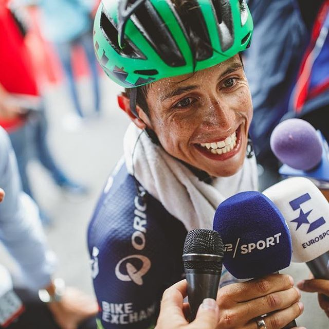 This guy...that smile...all the talent! Esteban Chaves LaVuelta 2016 by brakethrough_media