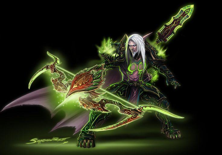Night Elf Hunter by ShadowPriest