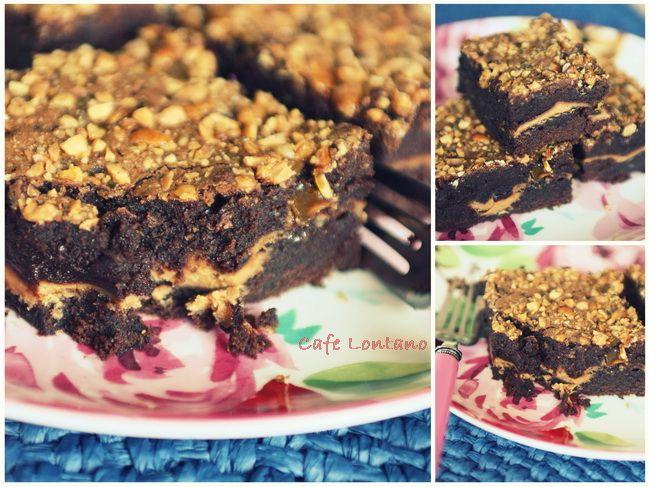 Fıstık Ezmeli Brownie2