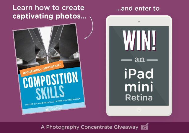 Win an iPad with Photography Concentrate!