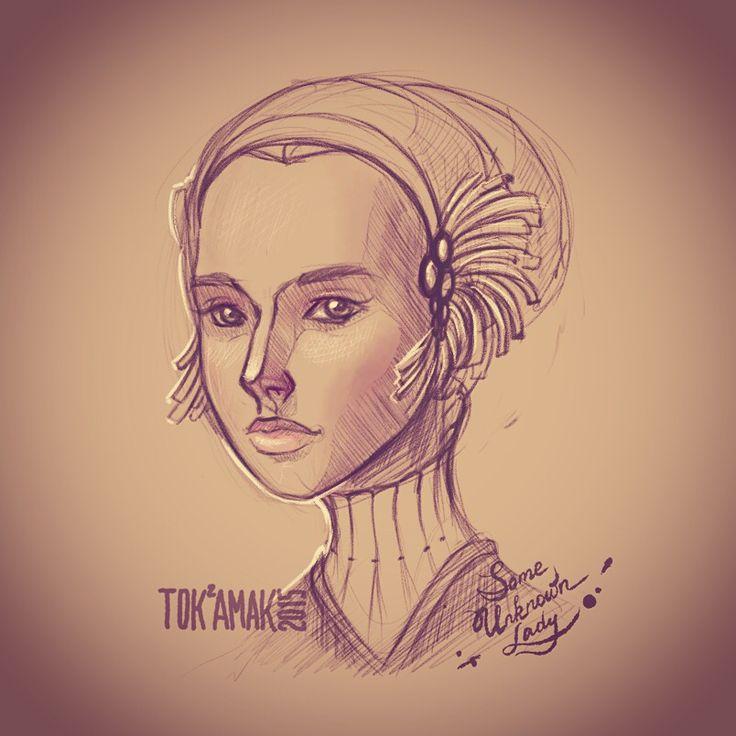 Just some random doodle portrait
