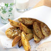 Rosmarin- und Farmerkartoffeln