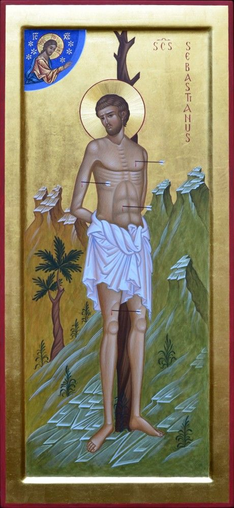 Αγ.Σεβαστιανος (; - 287)____dec 18      (Sebastiano martire