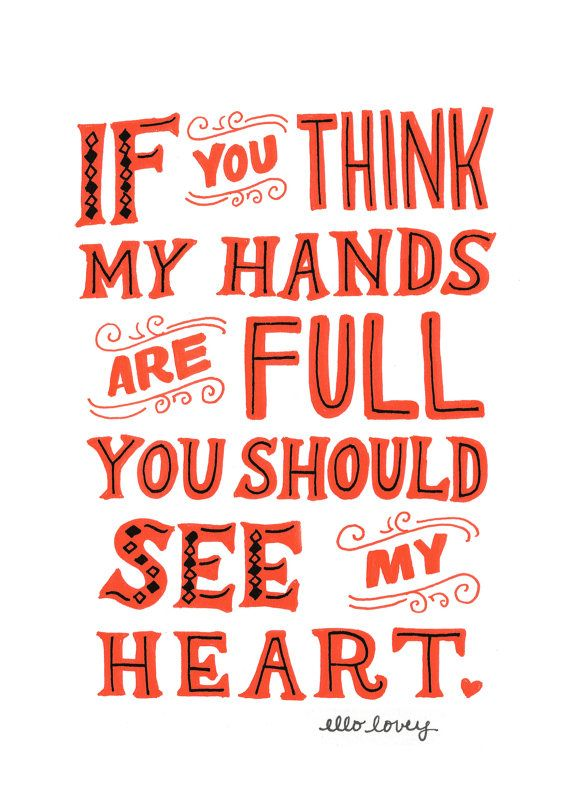 What I would like to say to everyone who yells me I will have my hands full!!