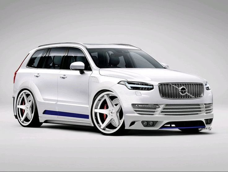 Modified XC90 rendered by Luis Baston. | Virtual Volvos | Pinterest