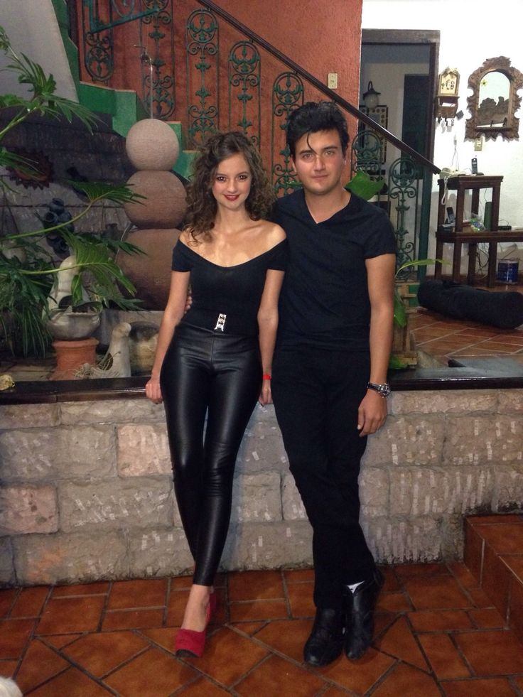 Danny and Sandy costumes. Grease