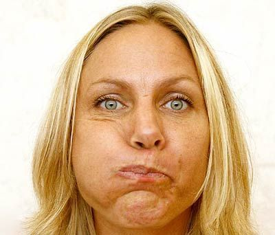 14 Yoga Exercises For Slimming Your Face Also a good way to make your husband crack up! Lol