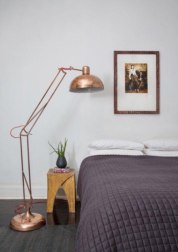 contemporary home main bedroom