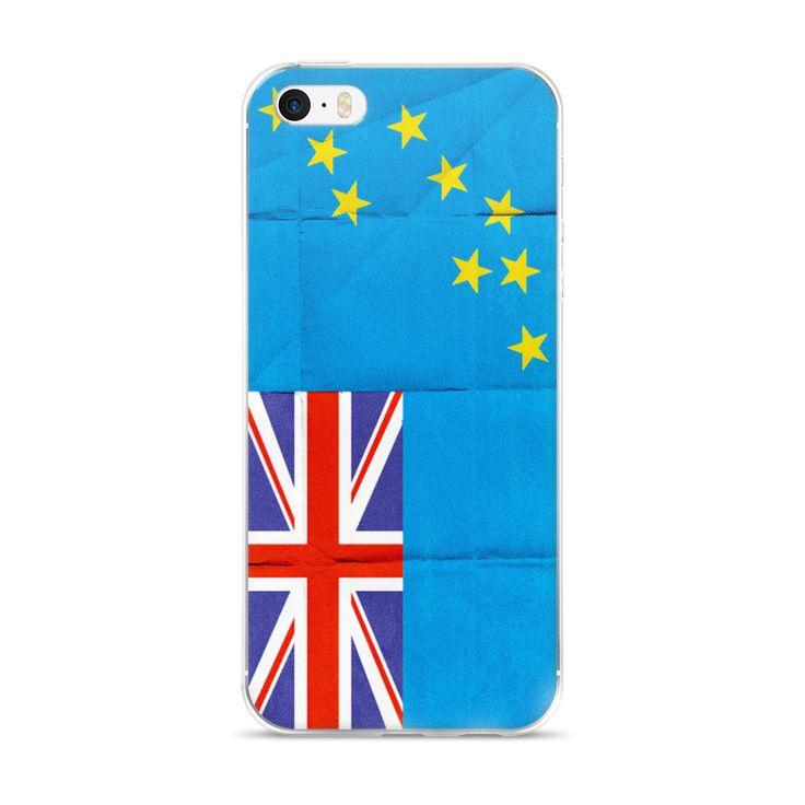 iPhone 5/5s/Se, 6/6s, 6/6s Plus Case - Tuvalu Flag