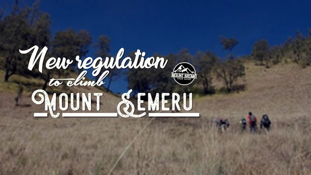 New regulation to climb Mount Semeru. Mount Semeru is the highest mountain in Java. Located in the area of Bromo Tengger Semeru National Park and Mount Bromo