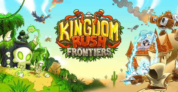 """Kingdom Rush Frontiers, a free online Strategy game brought to you by Armor Games. The world's most devilishly addictive defense game is back - welcome to Kingdom Rush: Frontiers!   """"Kingdom Rush Frontiers"""" is a game that combines Tower Defense, quirky humor and fantasy gameplay. The goal is to build many types of towers to attack incoming enemies, and stop them from getting past your defenses.  Bigger and badder than ever before, Kingdom Rush: Frontiers is a whole new level of the…"""