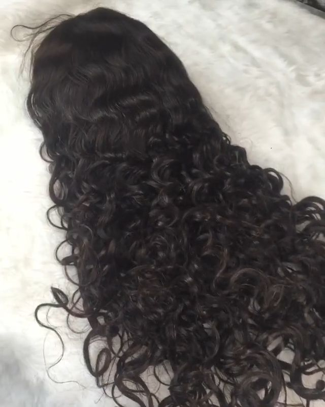 Wholesale Curly full lace human hair wigs for women ,Free shipping full lace wig human hair For Black Women