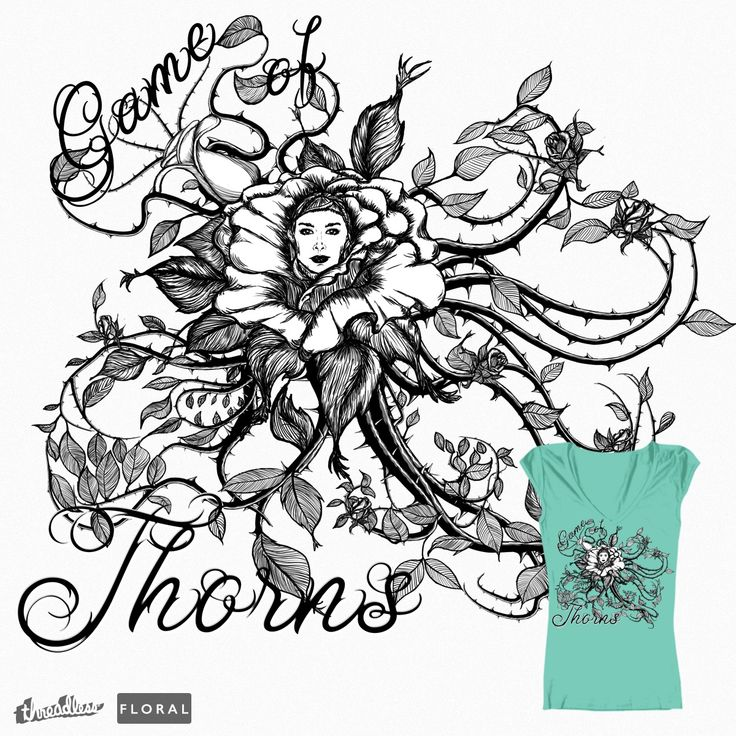 Game of Thorns on Threadless