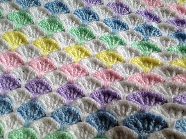 Ravelry: Project Gallery for Paintbrush Pillow & Afghan pattern by Susan Carlson