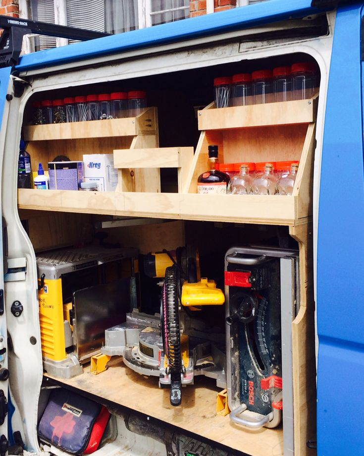 Ply storage carpenter | My Next work van build. | Pinterest | Storage