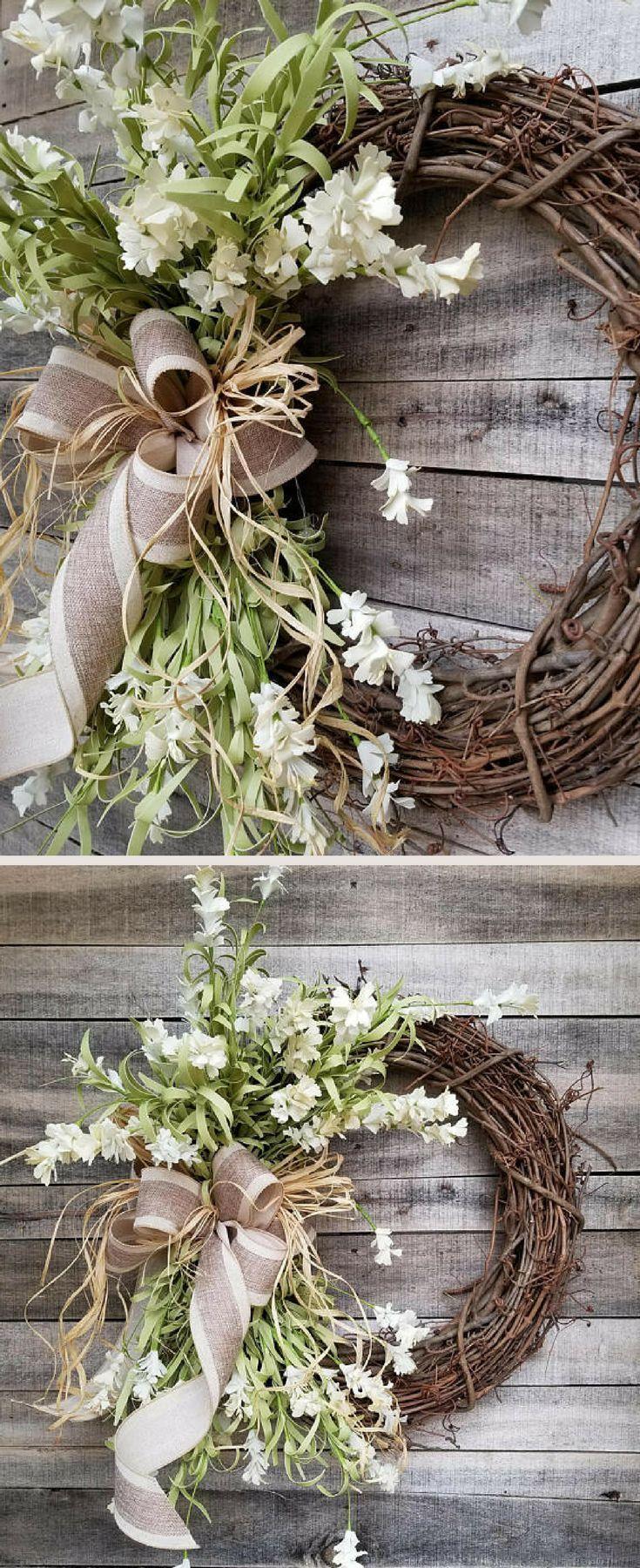 22 Front Door Wreaths Summer Wreaths Home Decor Wreaths Wreath