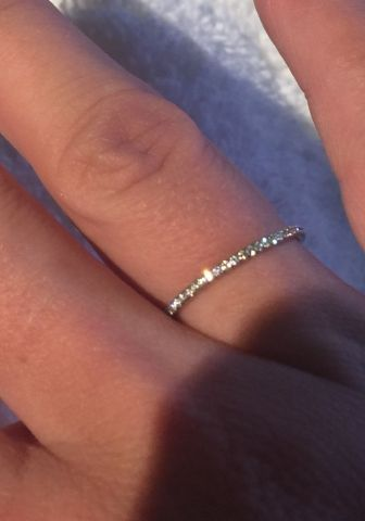Micro pave eternity by SK : Show Me the Bling! (Rings,Earrings,Jewelry) • Diamond Jewelry Forum - Compare Diamond Prices, Discussions & Diamond Information