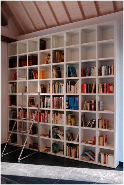 25 beste idee n over moderne boekenkast op pinterest planken - Moderne boekenkast ...