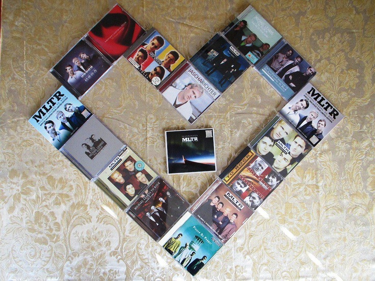 My special MLTR album collection.  I love each and every album!