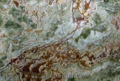 Onice Verde Scuro Onyx Slabs & Tiles