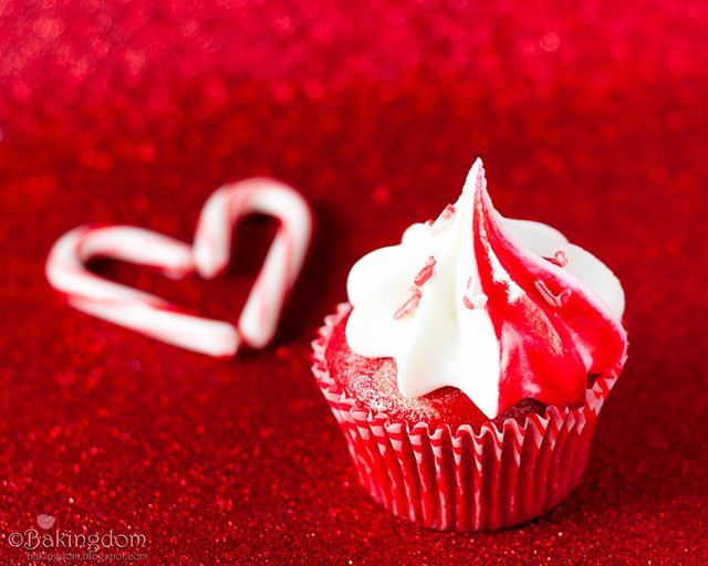 Sweet Peppermint Cupcake