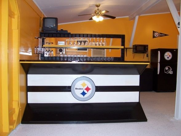 Do It Yourself Man Cave Bar : Best pittsburgh steelers rooms wo man caves images