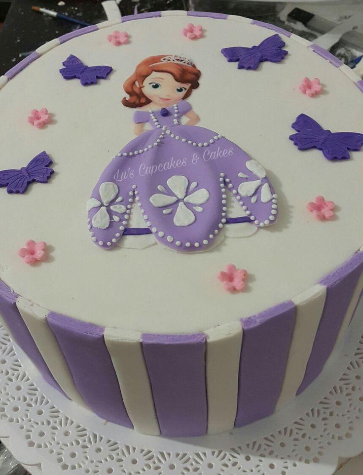 Princess Sophia cake