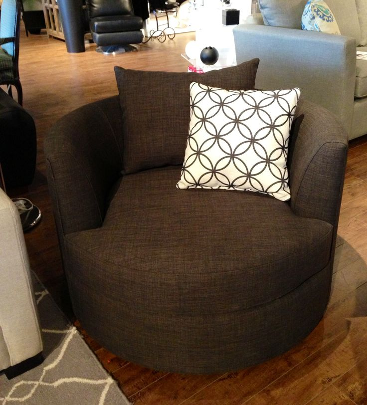 Cuddle Chair by Van Gogh Designs - Customizable in your choice of fabric available at Portfolio Interiors, Kamloops. Furniture and inspiration