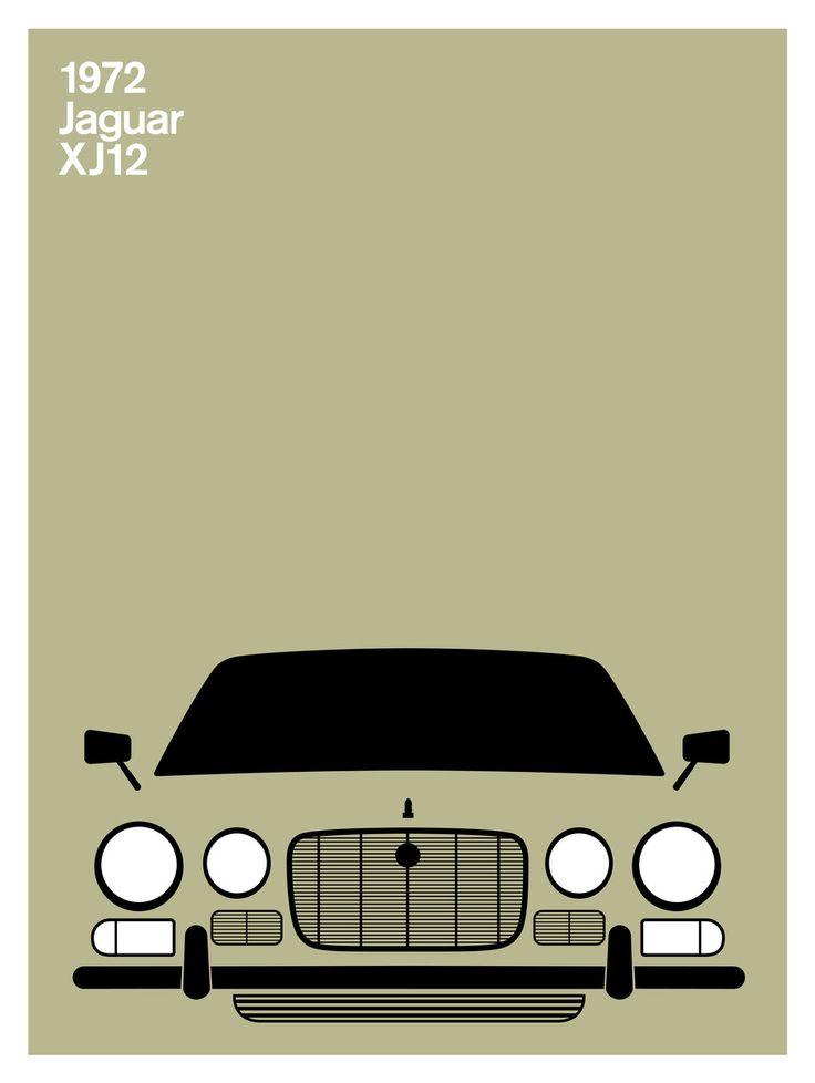 Print Collection - Jaguar XJ12, 1972