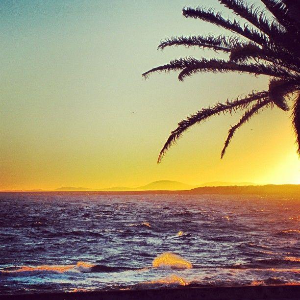 Beautiful sunset in Punta del Este #uruguay #travel #sea