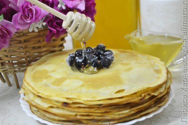 👌 Самые вкусные заварные блины на сметане, рецепты с фото