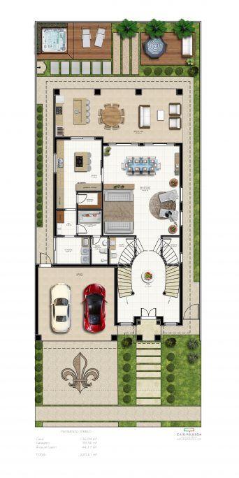 planta projeto casa estilo neoclássico escada dupla hall alpendre alto padrão mansão luxuosa arquiteto