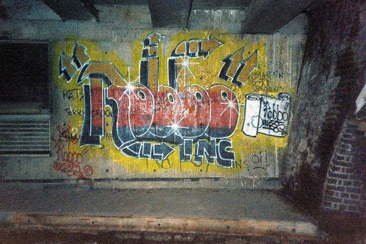 Banksy vs Robbo in images.