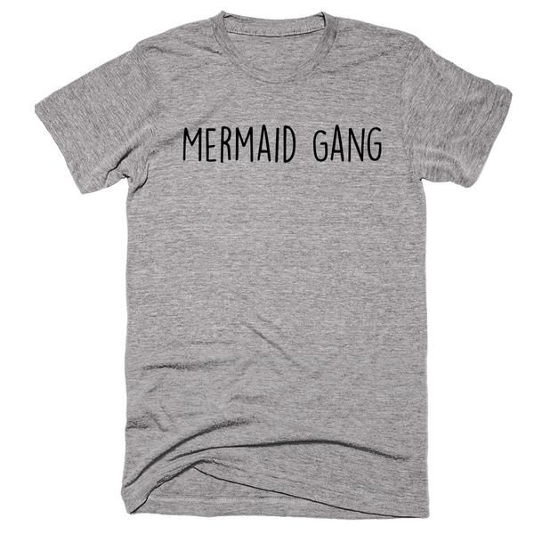 "U need this shirt and I will get one that says ""hmic head mermaid in charge"""