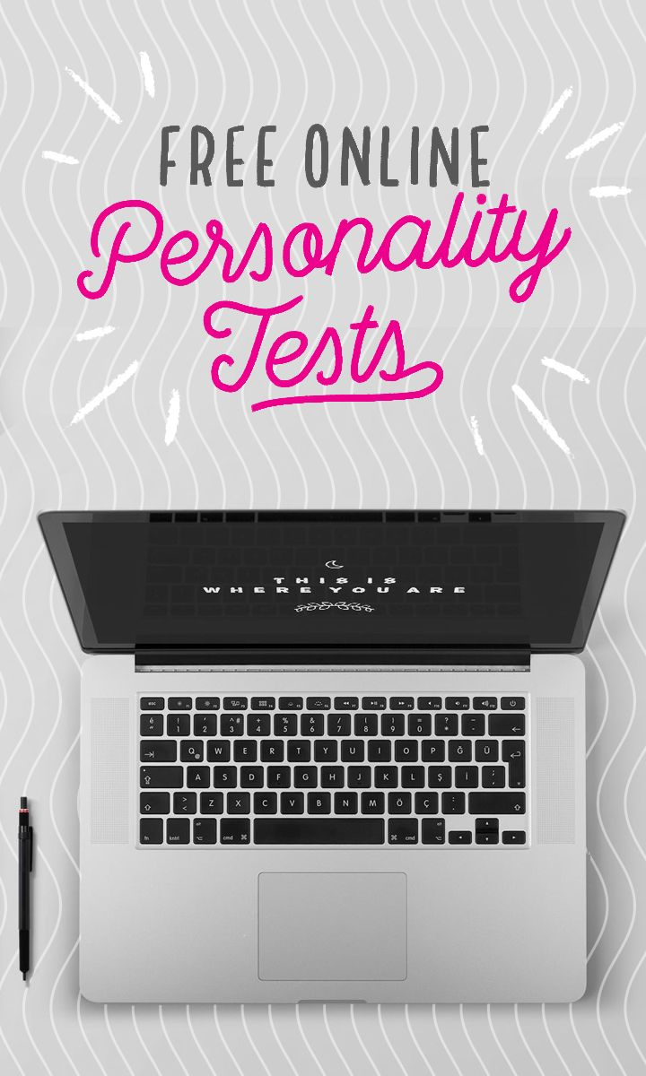 14 free online personality tests that'll help point you in the right direction