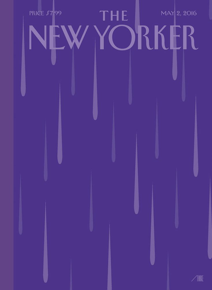 "Cover Story: ""Purple Rain,"" by Bob Staake - The New Yorker/ i cant sleep tonight..."