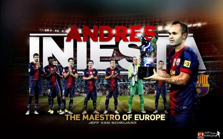 Andres Iniesta 2012- 2013 Barcelona HD Best Wallpapers