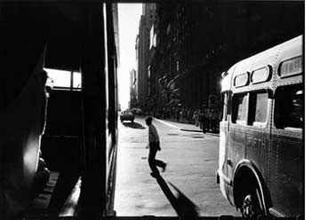 I was lucky enough to see an exhibit of Robert Frank's photography when I lived in Washington, DC.  This photo really captures what I love about his style.