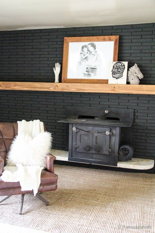 1000 Ideas About Black Fireplace Mantels On Pinterest Budget Living Rooms White Fireplace