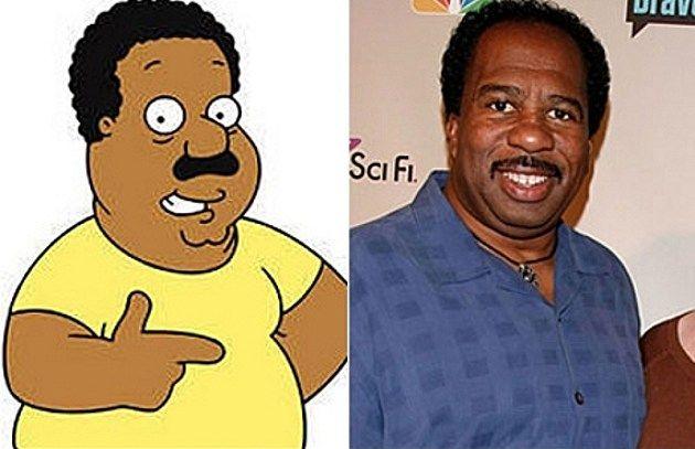 Image Result For Joe Swanson Real Life Cartoon Characters Cartoon Family Guy