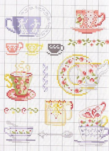 Gallery.ru / Фото #9 - mini cross stitch - zebdok